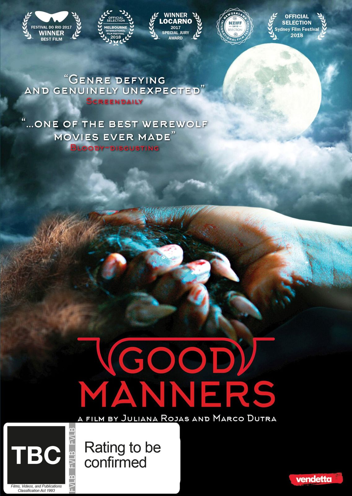 Good Manners on DVD image