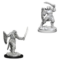D&D Nolzur's Marvelous: Unpainted Miniatures - Dragonborn Female Paladin