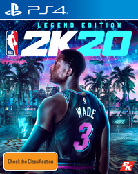 NBA 2K20 Legend Edition for PS4 image