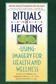 Rituals Of Healing (Using Imag by Jeanne Achterberg image