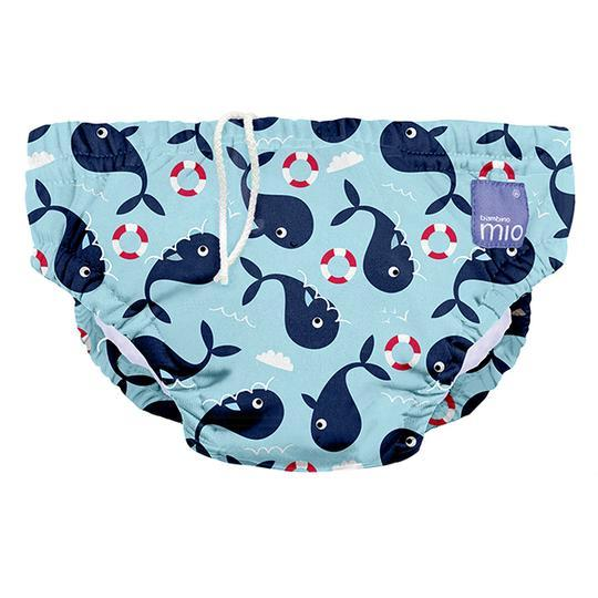 Bambino Mio: Swim Nappy - Whale Wharf (Medium/6-12m)
