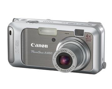 CANON CAMERA POWERSHOT A460 (5.0MP)