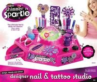 3D Shimmer 'N Sparkle Tattoo 'N Nail Studio