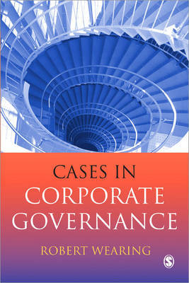 Cases in Corporate Governance by Robert T. Wearing image
