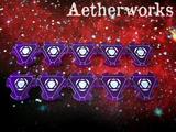 Aetherworks Energy Tokens - Transparent Purple (10 Pack)