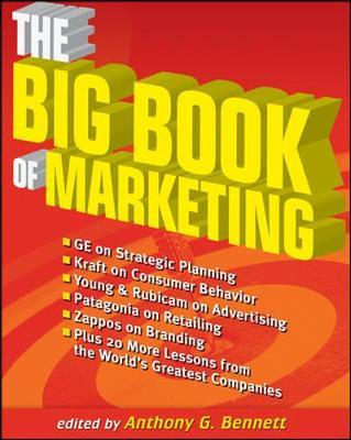 The Big Book of Marketing by Anthony G. Bennett image