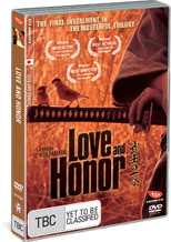Love and Honor on DVD