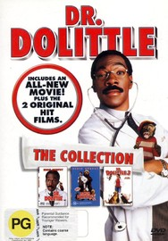 Dr Dolittle - The Collection (3 Disc Set) on DVD image