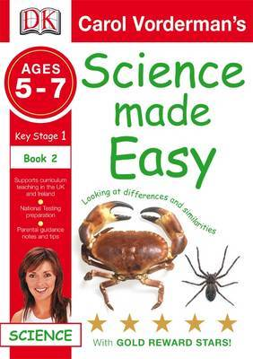Science Made Easy Looking at Differences and Similarities: Bk. 2 by Carol Vorderman image