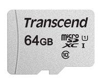 Transcend: 64GB 300S Class 10 UHS-I MicroSDHC Card