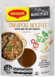Maggi: Marketplace - Singapore Noodles (150g)