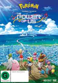 Pokemon The Movie: The Power Of Us on DVD