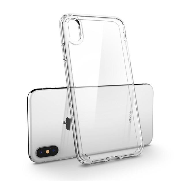 Spigen: Ultra Hybrid Case for iPhone XS - Clear