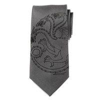 Game of Thrones Targaryen Dragon Gray Men's Tie