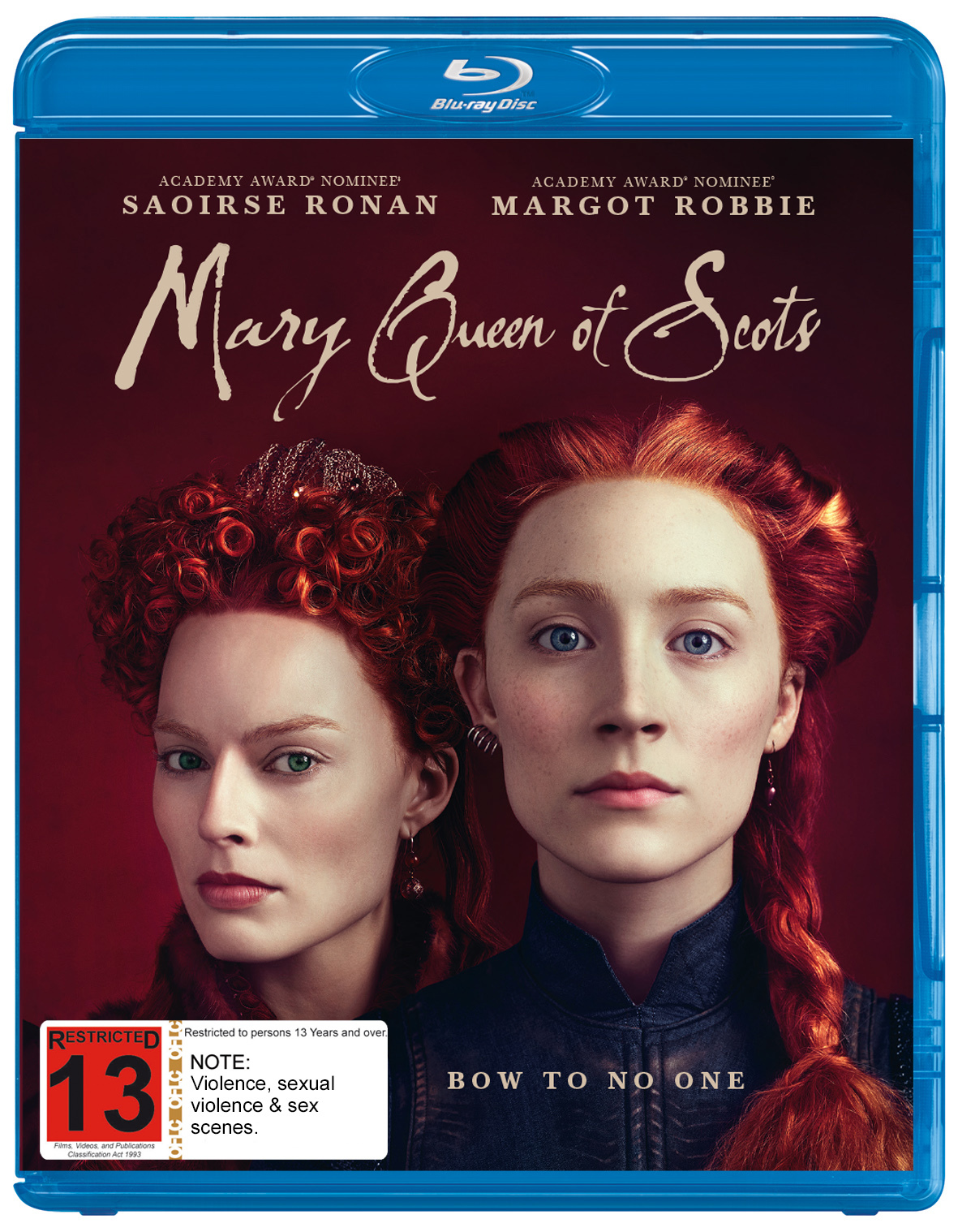 Mary Queen Of Scots on Blu-ray image