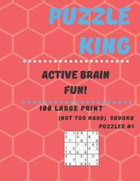 Puzzle King Active Brain Fun by Puzzle King