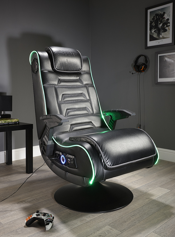 X Rocker EVO Pro LED 4.1 Wireless Gaming Chair for