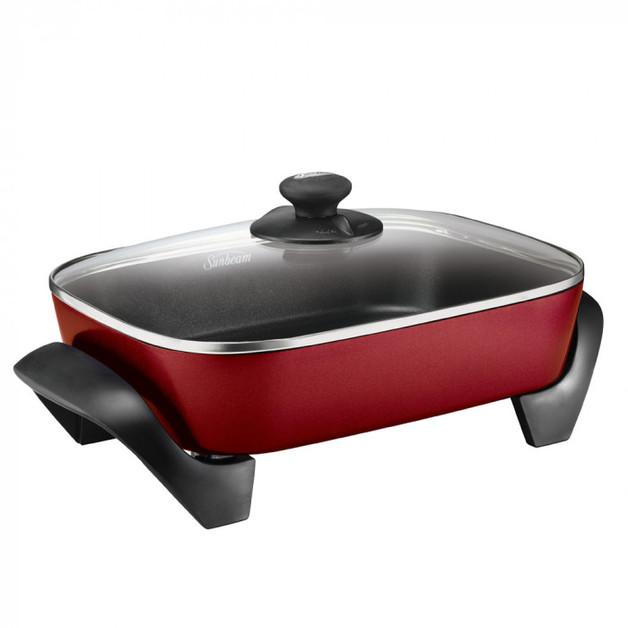 Sunbeam: Minerale Classic Banquet Frypan - Ochre Red