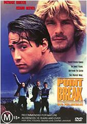 Point Break on DVD