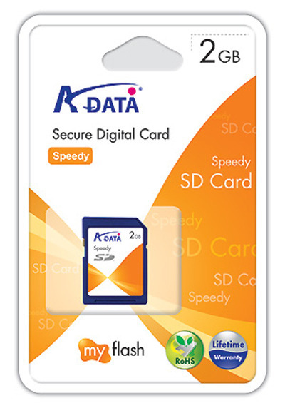 Adata 2GB SD Card