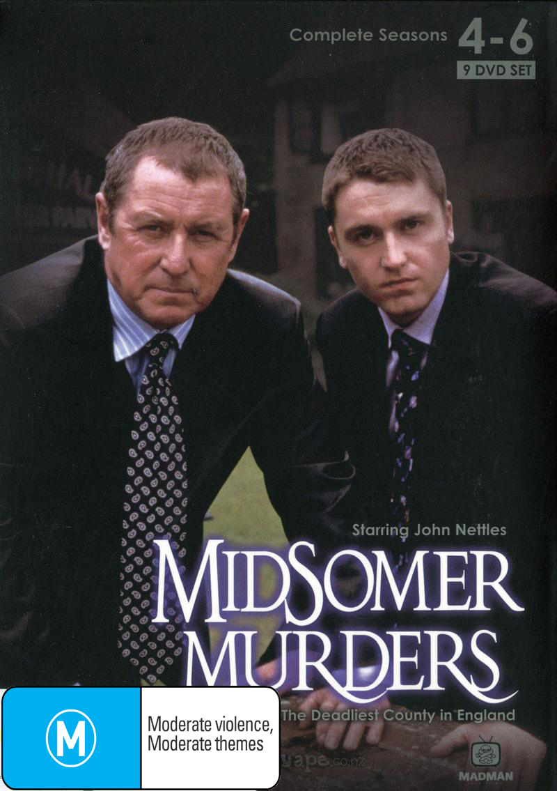 Midsomer Murders - Seasons 4-6 on DVD image