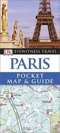 Paris Pocket Map and Guide by DK Travel