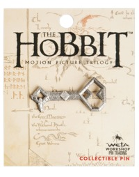 The Hobbit Key to Erebor Collectible Pin