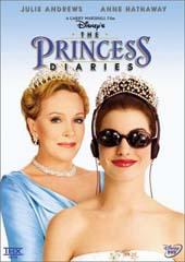 The Princess Diaries on DVD