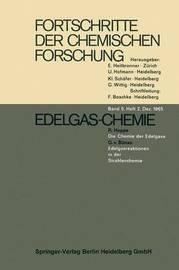 Edelgas-Chemie by R Hoppe G V Bunau