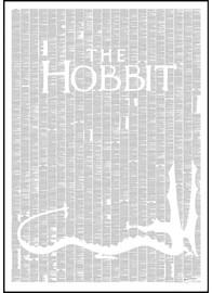 Spineless Classics The Hobbit Print (70 x 100cm)