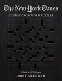"New York Times Sunday Crosswords 2018 Weekly Planner Calendar by ""The New York Times"""