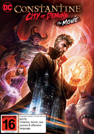 Constantine: City of Demons on DVD