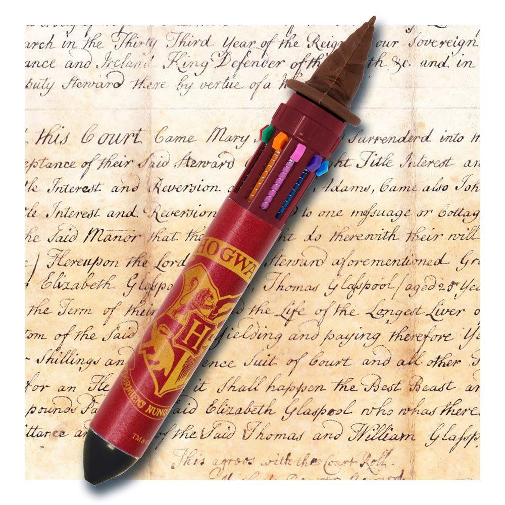 Harry Potter Multi Colour Pen - Sorting Hat image