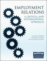Employment Relations by Pauline Dibben