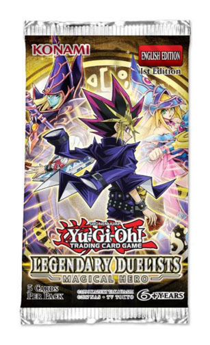 Yu-Gi-Oh! Legendary Duelists Magical Hero Single Booster (5 Cards)