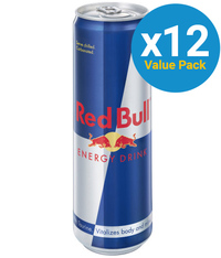 Red Bull Energy Drink 473ml Cans (12 Pack)