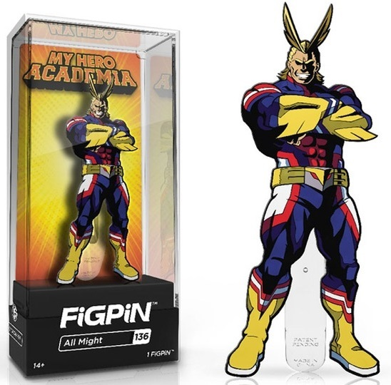 My Hero Academia: All Might (#136) - Collectors FiGPiN