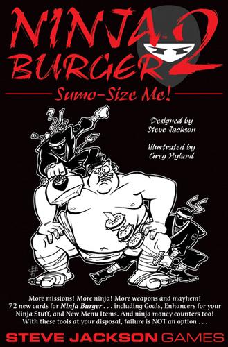 Ninja Burger 2: Sumo Size Me image