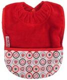 Silly Billyz Towel Pocket Bib (Red Heart)