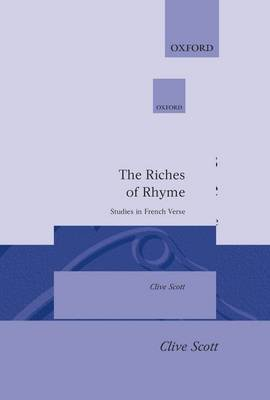 The Riches of Rhyme by Clive Scott image