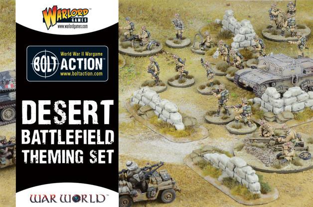 Desert Battlefield Theme Set
