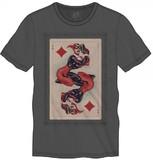 DC Comics Harley Quinn Card T-Shirt (Medium)
