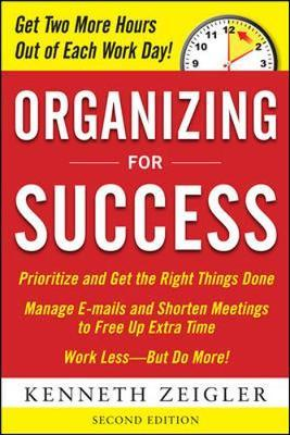 Organizing for Success, Second Edition by Kenneth Zeigler image