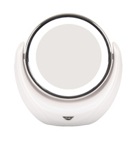 Illuminated 5x Magnifying Makeup Mirror