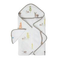 Little Unicorn - Hooded Towel & Wash Cloth - Oh Deer image