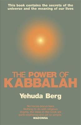 The Power Of Kabbalah by Yehuda Berg image