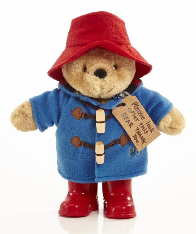 "Paddington Bear with Boots - 8"" Plush"