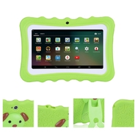 Kids 7-Inch Android Tablet with Protective Case - Green