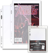 BCW: Comic Protective Pages - Current/Silver (Single Pocket)