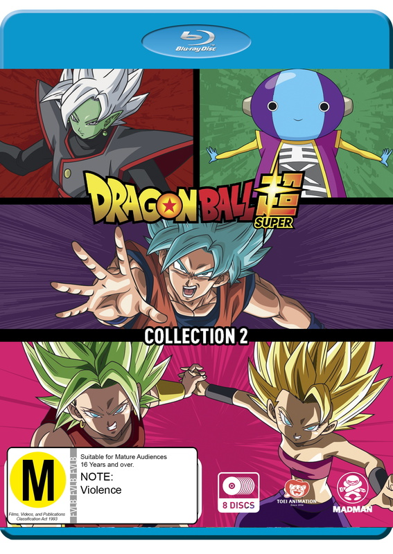 Dragon Ball Super - Collection 2 on Blu-ray